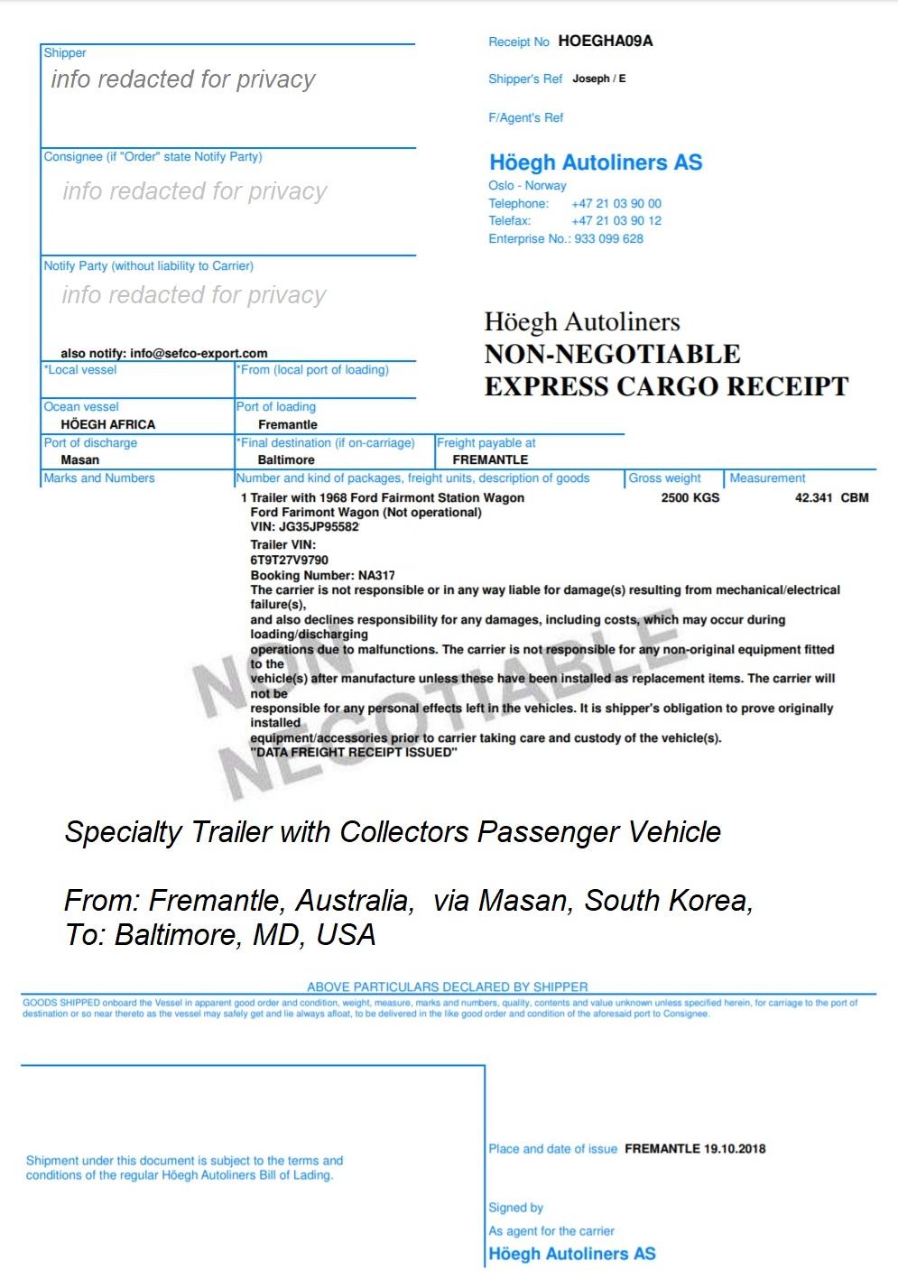 Ship High & Heavy Equipment & Vehicles Internationally - USA